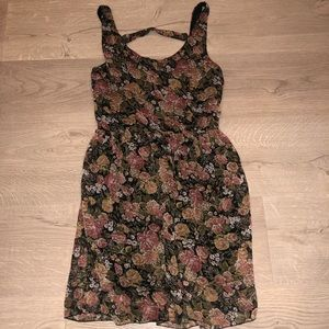 Brandy Melville Flowy Floral Tank Dress